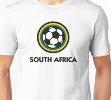 Football coat of arms of South Africa Unisex T-Shirt