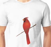 A Northern cardinal bird Unisex T-Shirt