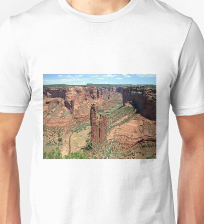 Spider Rock, Canyon De Chelly Unisex T-Shirt