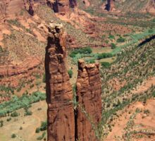 Spider Rock, Canyon De Chelly Sticker