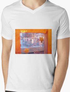 Through The Warming Glass Mens V-Neck T-Shirt