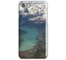 Lake Thun: North Face of the Eiger, Moench and Jungfrau iPhone Case/Skin