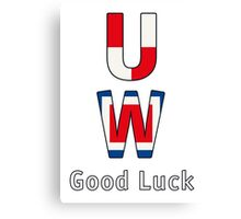 Good Luck - White BackGround Canvas Print