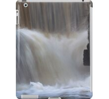 Waterfalls at Penllergare nature reserve iPad Case/Skin