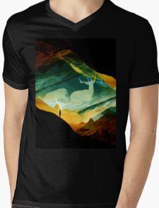 Native Dream Catchers Mens V-Neck T-Shirt