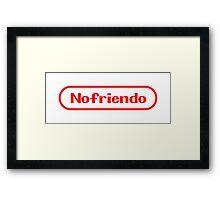 Nofriendo Framed Print