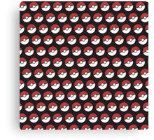 Pokemon Pattern Canvas Print