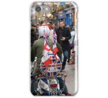 1960's scooter in Carnaby Street, London iPhone Case/Skin