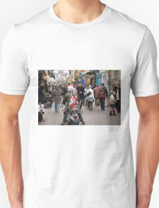 1960's scooter in Carnaby Street, London Unisex T-Shirt