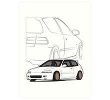 JDM Hatch Art Print