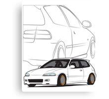 JDM Hatch Canvas Print