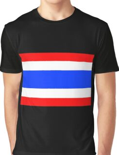 Flag of Thailand Graphic T-Shirt