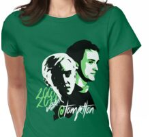 @TomFelton, Draco Malfoy - No Username Womens Fitted T-Shirt