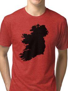 Map of Ireland Tri-blend T-Shirt