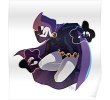 Raven Teen Titans Poster