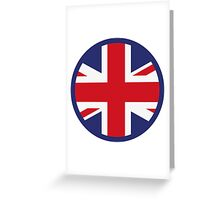A heart for the United Kingdom Greeting Card