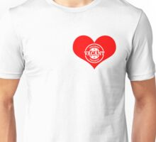 Vacant Heart! (White Version) Unisex T-Shirt