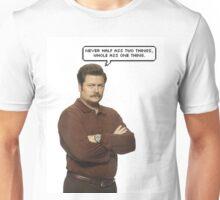 Ron Swanson Unisex T-Shirt