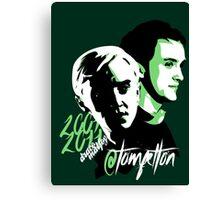 @TomFelton, Draco Malfoy - No Username Canvas Print