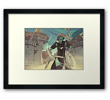 Back to Lion's Arch Framed Print