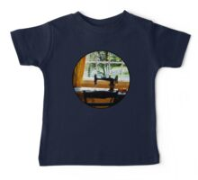 Sewing Machine By Window Baby Tee