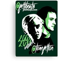@TomFelton, Draco Malfoy - @feltbeats Canvas Print