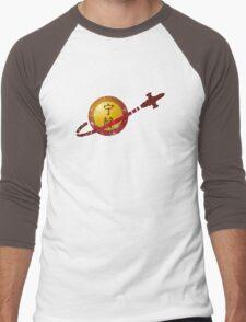 Serenity Logo (Lego Classic Space Homage) Men's Baseball ¾ T-Shirt