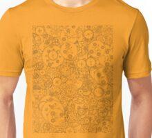 Clockwork B&W Unisex T-Shirt