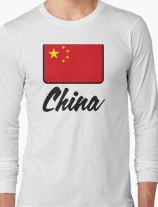 National Flag of China Long Sleeve T-Shirt