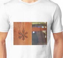 Golden Snow Flake Unisex T-Shirt