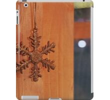 Golden Snow Flake iPad Case/Skin