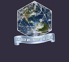 The Geek will inherit the Earth Unisex T-Shirt
