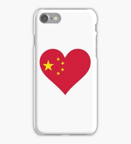A heart for China iPhone Case/Skin