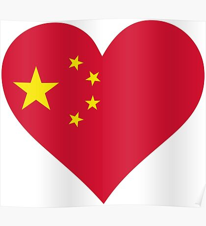 A heart for China Poster