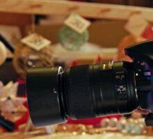 Crystal Through The Lens Sticker