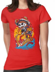 skull pirates Womens Fitted T-Shirt