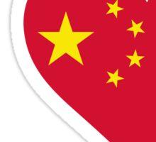 I Love China Sticker