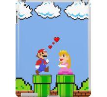 Mario 8bit ♥ Love World iPad Case/Skin