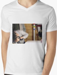The Tough Side Of Photography Mens V-Neck T-Shirt
