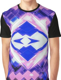 3D Mapping Art Graphic T-Shirt
