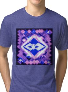 3D Mapping Art Tri-blend T-Shirt