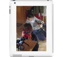 Playing The Photo Game iPad Case/Skin