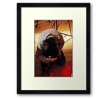 Working For The Best Shot Framed Print