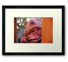 Adorable Angel Framed Print