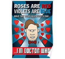 DOCTOR WHO VALENTINE CARD 1 Poster