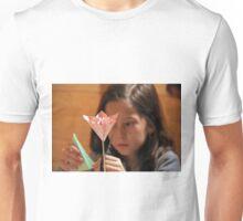 Origami Flower Unisex T-Shirt