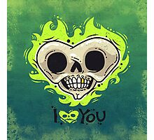 Burning Dead Heart Loves You Photographic Print