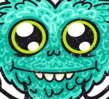 Cute Wild Love Monster Sticker