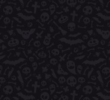 Dark Halloween Pattern by Voysla