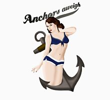 Anchors Aweigh - Classic Pin Up T-Shirt